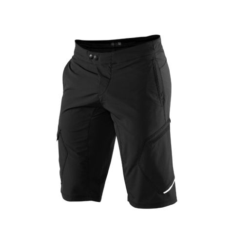 100% Ridecamp Shorts Black